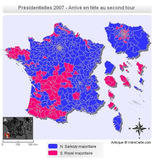 carte de france electorale